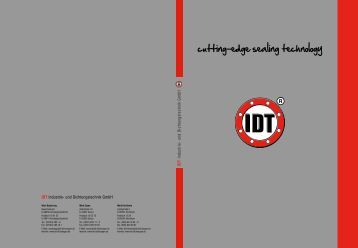 Коэффициенты уплотнений - IDT - Industrie