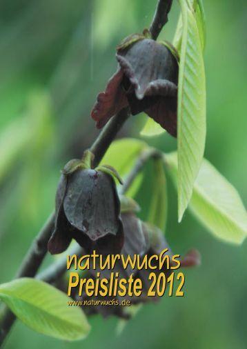 Preisliste 2012.indd