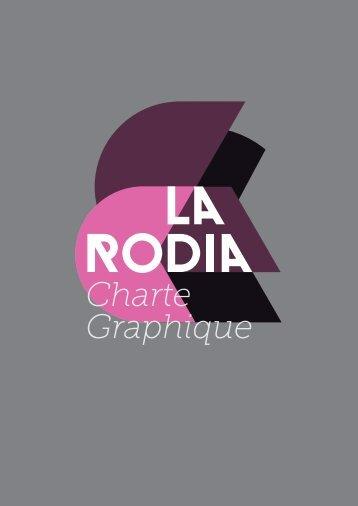 Charte Graphique - La Rodia