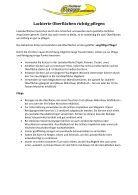Geölte Holzoberflächen richtig pflegen - Page 3