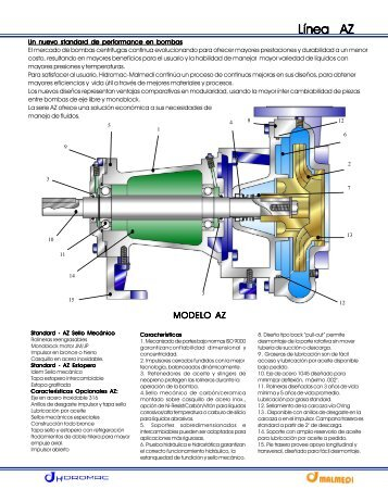 Especificaciones Técnicas - Grupo JP Calderas, C.A.