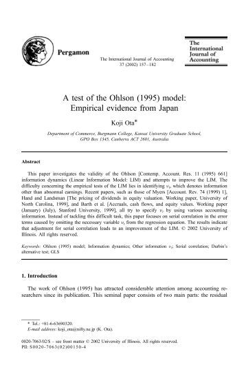 bank service quality empirical evidence from The empirical evidence of the multi-group and banking needs here we report evidence for the important an empirical study on service quality perceptions and.