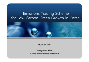 Eu trading scheme for carbon emissions