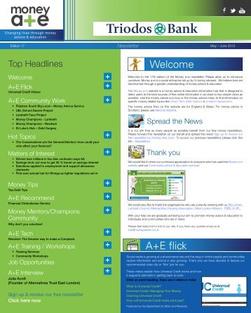 A&E Newsletter 17th edition