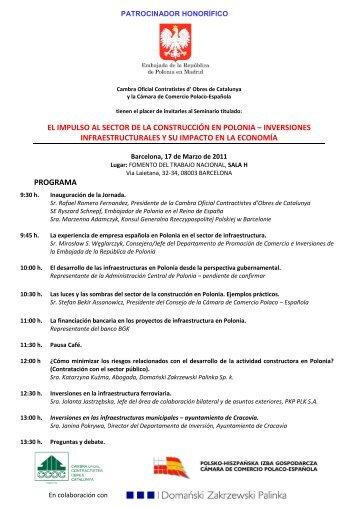 Programa y formulario - Domański Zakrzewski Palinka