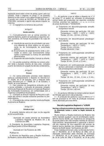 DIÁRIO DA REPÚBLICA — I SÉRIE-A N.o 36 — 12-2 ... - Vetbiblios
