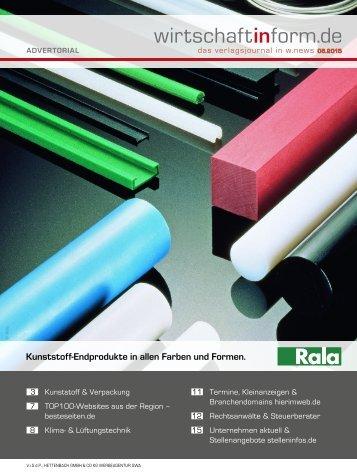 Kunststoff & Verpackung | wirtschaftinform.de 06.2015