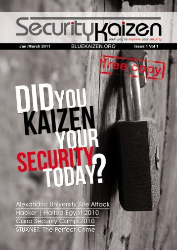 Open Issue 1 in PDF format - Bluekaizen