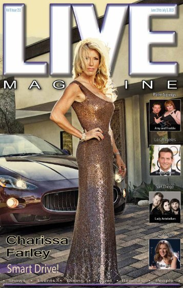 Live MAGAZINE VOL 8, Issue #211A June 19th THRU July 3rd, 2015