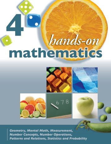 Hands-On Mathematics, Grade 4 Sample - Portage & Main Press