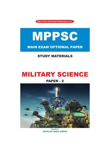 MPPSC Main Exam Military Science Paper 2 content.pdf