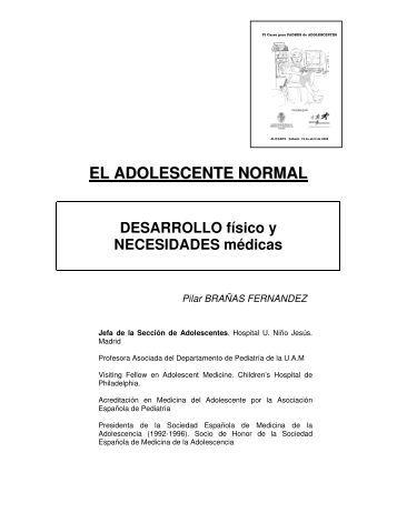 Adolescente Normal Desarrollo.pdf - Comité Adolescencia ALAPE