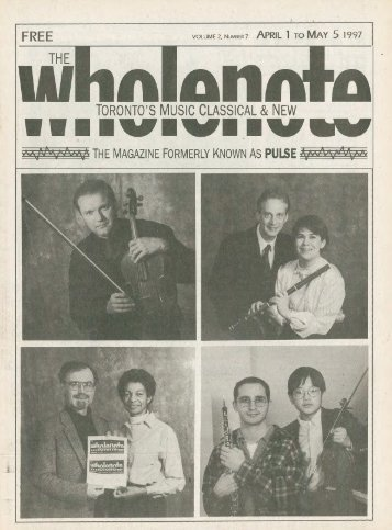 Volume 2 Issue 7 - April 1997