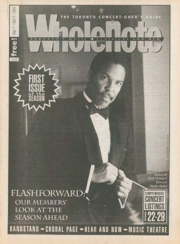 Volume 4 Issue 1 - September 1998