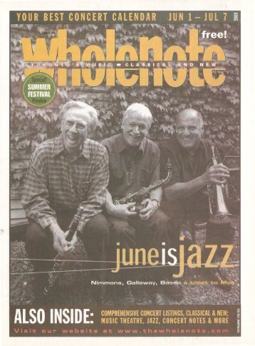 Volume 6 Issue 9 - June 2001