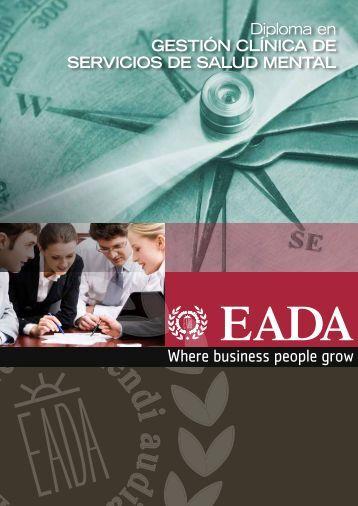 Diploma en GESTIóN CLíNICA DE SERVICIOS DE SALUD ... - EADA