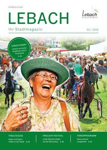 Stadtmagazin Lebach 01|2015
