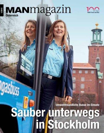 MANmagazin Bus Österreich 1/2015