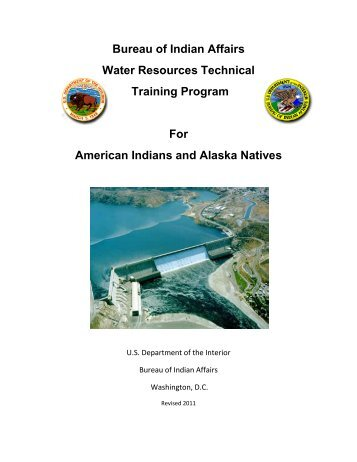Water Resources Technical Training Program - US Environmental ...