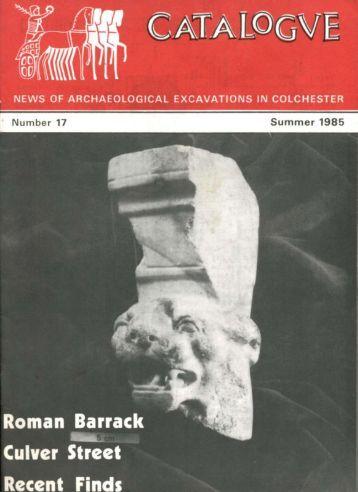 Catalogue - Summer 1985