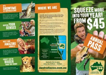 zoo brochure template - caulerpa taxifolia in south australia and queensland