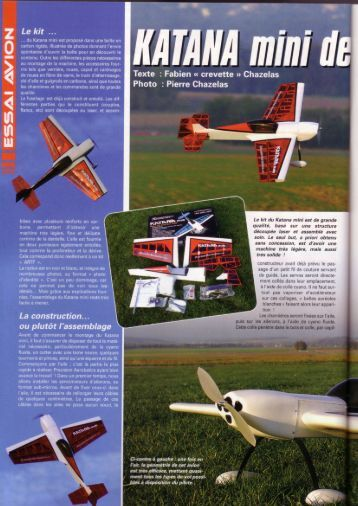 Graphique 1 - Precision Aerobatics