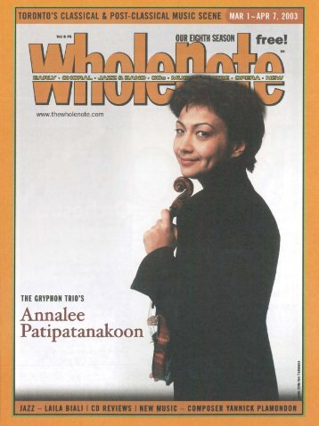 Volume 8 Issue 6 - March 2003