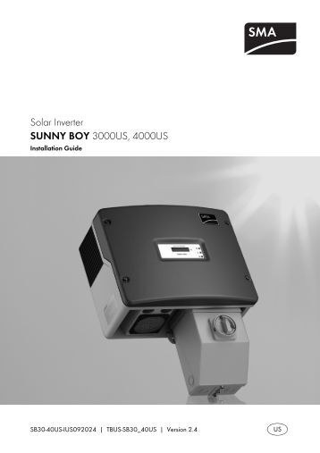 Sunny Roo Inverter User Manual Here Gold Coast Solar