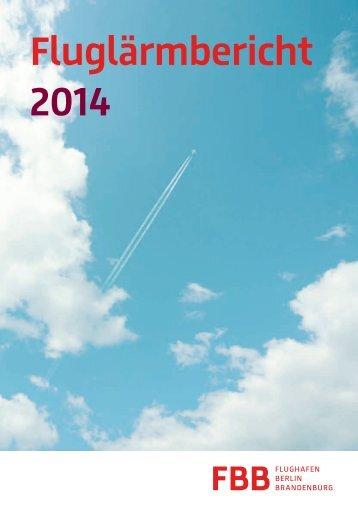 Fluglärmbericht 2014