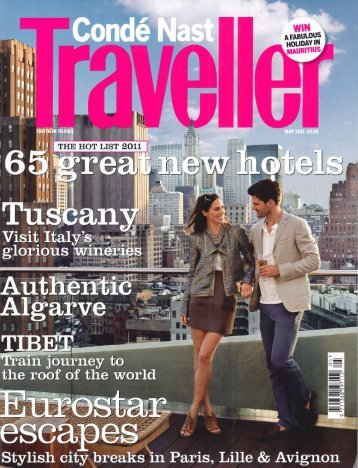Conde Nast Traveller - Alila Hotels and Resorts