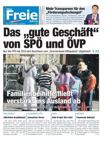 """Das """"gute Geschäft"""" von SPÖ und ÖVP"""
