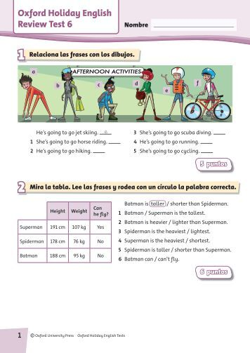 english reviewer pages 6 The following are specific activities for each sol standard in 8th grade english assist in review of of page to find this section of exercises) 6.