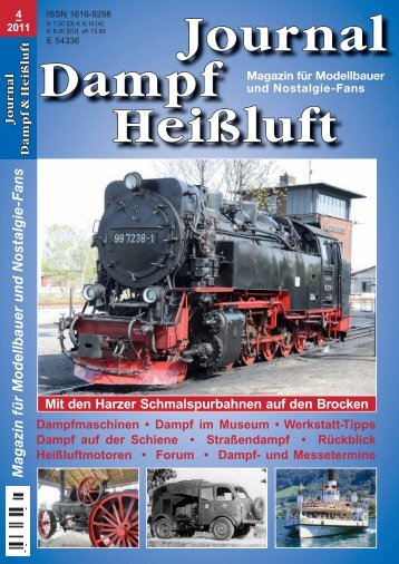 Journal Dampf Heißluft
