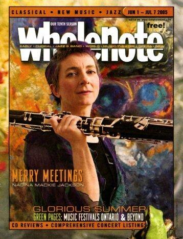 Volume 10 Issue 9 - June 2005