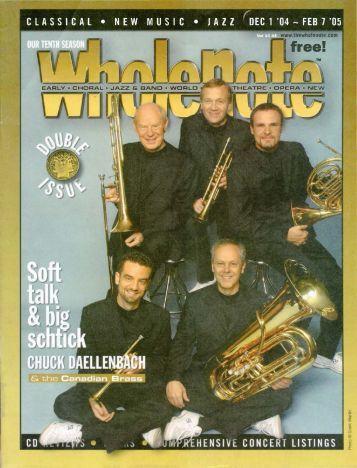 Volume 10 Issue 4 - December 2004