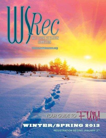 Winter/spring 2013 - West Shore Rec Comm