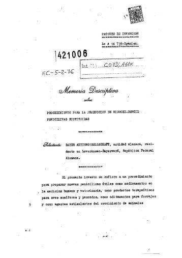 PROCEDIMIENTO PARA LA PRODUCCION DE HIDROXIBENCIL ...