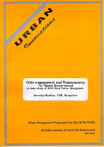 transparency in good governance pdf