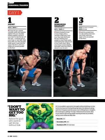 DIY Workout - Men's Fitness Magazine