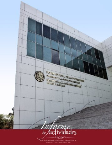 IntroduccIón - Instituto de la Judicatura Federal - Consejo de la ...