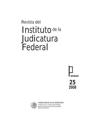 Preliminares - Instituto de la Judicatura Federal - Consejo de la ...