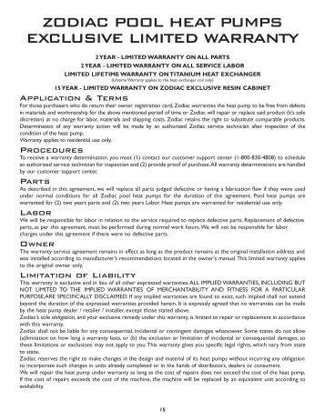 zodiac lm3 installation instructions