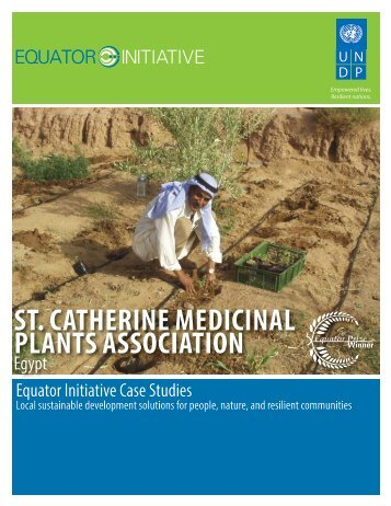 st. catherine medicinal plants association - The GEF Small Grants ...