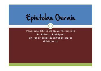 Epístolas Gerais - Ibcu.org.br