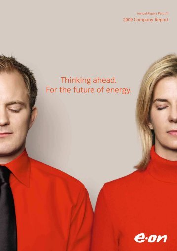 Thinking ahead. For the future of energy.