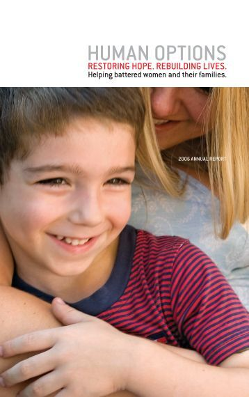 2005-2006 Annual Report (PDF) - Human Options