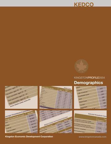 Demographics - KEDCO - Kingston