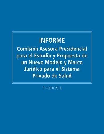 Informe Final Comisión Asesora Presidencial