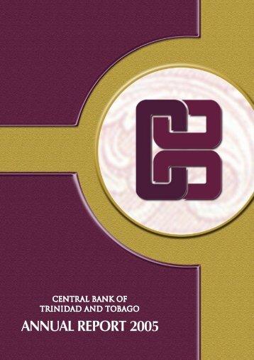 2005 - Central Bank of Trinidad and Tobago