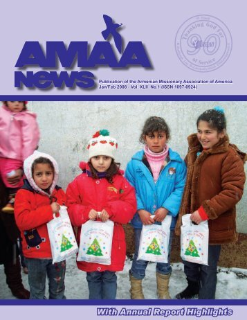 AMAA NEWS - Armenian Missionary Association of America